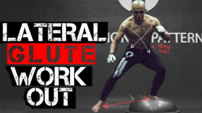 Functional Leg Exercises – Lateral Bosu Ball Glute Workout